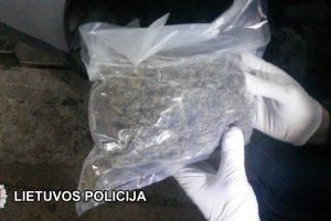 Užkirstas kelias narkotikų gabenimui į Baltarusiją ir marihuanos įvežimui į Lietuvą