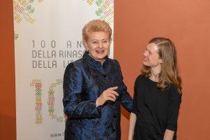 Prezidentė Romoje atidarė Lietuvos kultūros festivalį