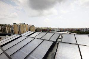Prašoma paramos daugiabučiams, nusprendusiems diegti saulės elektrines
