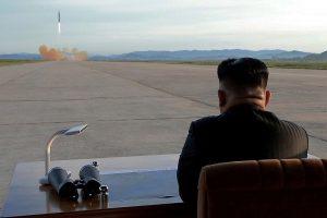 Šiaurės Korėja paleido balistinę raketą