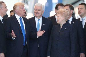 K. Girnius: nors Lietuva D. Trumpui nėra svarbi, esminius sprendimus priima ne jis