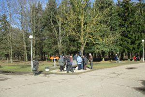 Draugystės parke – kauniečių antplūdis