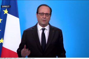 Prancūzijos prezidentas F. Hollande'as nesieks antrosios kadencijos