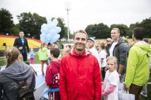 UNICEF vaikų bėgime – žinomų žmonių antplūdis