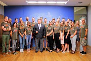 """Užsienio reikalų ministras dėkoja Kazachstanui, priėmusiam """"Misija Sibiras"""""""