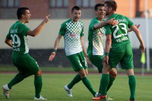 """Vilniaus """"Žalgiris"""" palaužė """"Atlantą"""" ir žais LFF taurės turnyro finale"""