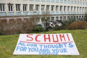 Komos ištiktam M. Schumacheriui pašalinta dalis kaukolės