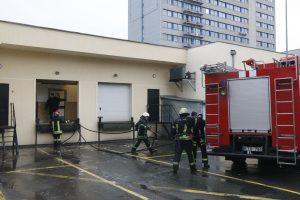 Bandelės sukėlė gaisrą prekybos centre