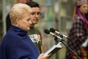 Prezidentė: birželio 14-oji – Lietuvos žaizda, kuriai nelemta užgyti