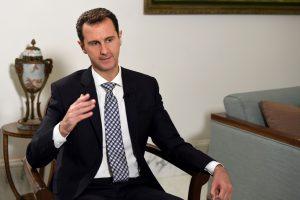 JAV ragina Rusiją ir Iraną sustabdyti Sirijos prezidentą dėl cheminio ginklo