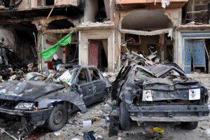 Sirijoje dvigubo sprogdinimo aukų padaugėjo iki 46