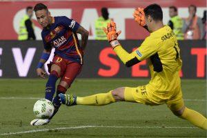 """Barcelona"" vienuolikė iškovojo Ispanijos futbolo taurę"