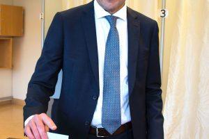 Islandijos prezidentu išrinktas politikos naujokas G. Johannessonas