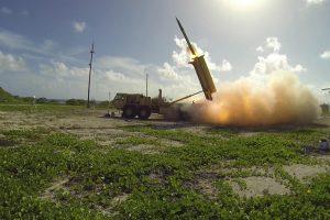 JAV smerkiama dėl planų dislokuoti priešraketinę sistemą Pietų Korėjoje