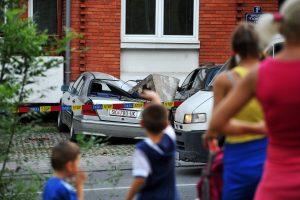 Makedonijos sostinę supurtę požeminiai smūgiai sukėlė paniką
