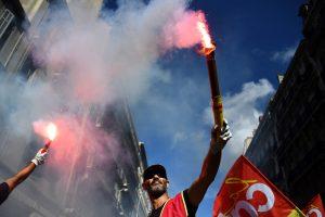 Prancūzijoje – nauji protestai prieš darbo rinkos reformas