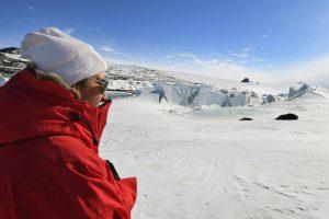 J. Kerry – aukščiausio lygio JAV diplomatas, aplankęs Antarktidą