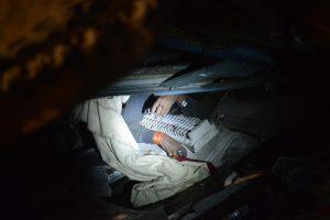 Žuvusiųjų Indijos traukinio katastrofoje padaugėjo iki 145