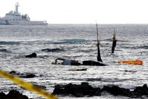 Japonijoje orlaiviui patyrus avariją sužeisti penki JAV jūrų pėstininkai