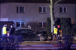 Lenkijoje per automobilio avariją lengvai sužeista premjerė B. Szydlo