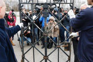 Pavogti nacių koncentracijos stovyklos vartai sugrįžo į Dachau