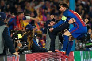"""""""Barcelona"""" sukūrė stebuklą, į kitą etapą žengė ir """"Borussia"""""""
