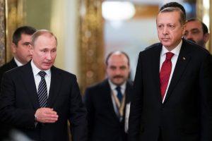 Turkijos prezidentas susitiko su V. Putinu