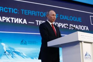 V. Putinas: klimato kaitą lemia ne žmogaus poveikis