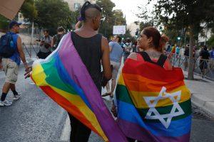 Jeruzalėje tūkstančiai žmonių dalyvavo homoseksualų parade