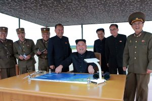 Pentagonas: Šiaurės Korėja išbandė vidutinio nuotolio raketą