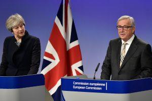 """Britanijai ir ES nepavyko susitarti dėl """"Brexit"""""""