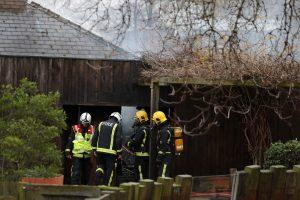 Londono zoologijos sode buvo kilęs gaisras