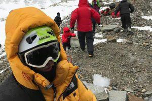 Lenkijos alpinistai išgelbėjo ant Himalajų viršukalnės įstrigusią prancūzę