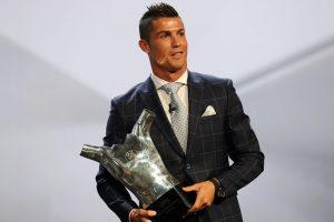 C. Ronaldo – geriausias Europoje rungtyniavęs sezono futbolininkas