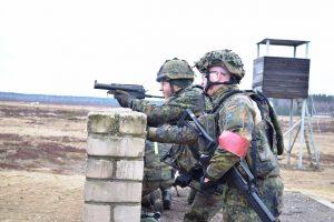 Vokiečių vadovaujamo NATO bataliono kariai pradėjo treniruotes