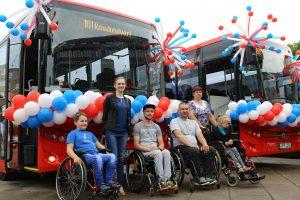 Į gatves išriedėjo modernūs autobusai