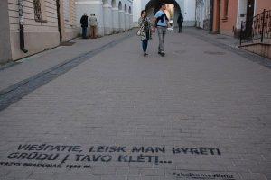 Galima skaityti dar daugiau Vilniaus
