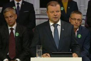 Ekspertai: debatus apie teisingumą laimėjo Valstiečių ir žaliųjų sąjunga