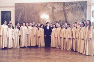 """""""Cantate Domino"""" sėkmė Varšuvoje"""