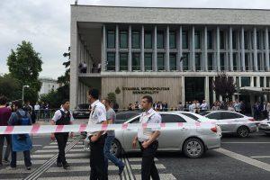 Užminuoto automobilio sprogimas Turkijoje nusinešė 11 policininkų gyvybes