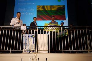 Lietuvos atstovai sužibėjo žaliųjų verslo idėjų konkurse