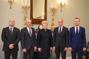 Prezidentė paskyrė naują STT vadovybę