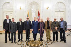 Prezidentė nacionalinės premijos laureatams: ačiū už meilę žmogui ir Lietuvai