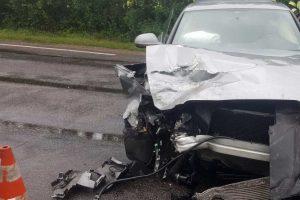 Po avarijos Dotnuvoje darbo neteko dar du policininkai