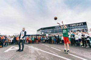 """Jubiliejiniame """"Žalgirio"""" 3×3 turnyre – integruoto krepšinio rungtynės"""