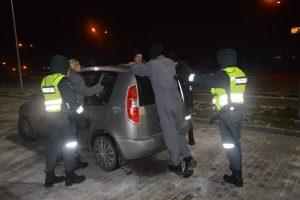 Policijos kursantų laukia nelengvas išbandymas – naktiniai mokymai