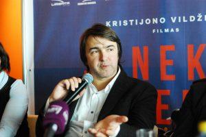 """K. Vildžiūnas pristatė """"Senekos dieną"""": tai mano filmas, bet ne apie mane"""