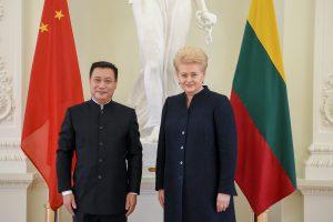 Darbą pradeda naujas Kinijos ambasadorius Lietuvoje