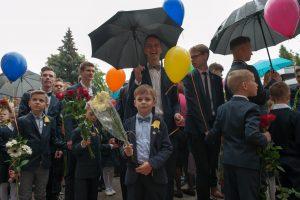 Pirmasis skambutis Kaune – be jaudulio ir su tūkstančiais šypsenų
