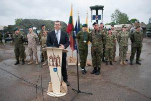 NATO kariai Panemunėje išrikiavo itin svarbią techniką